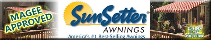 Click Here - Learn more about SunSetter Awnings